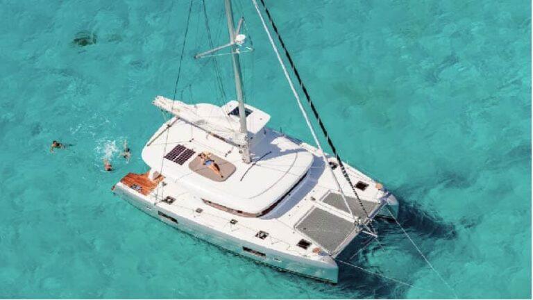 遊艇出租-雙體帆船1
