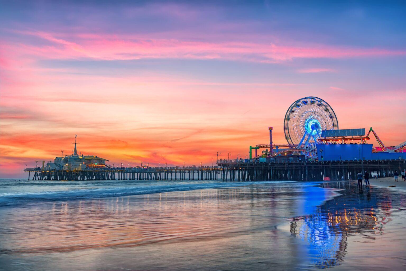 加州海灘-美國疫苗行程