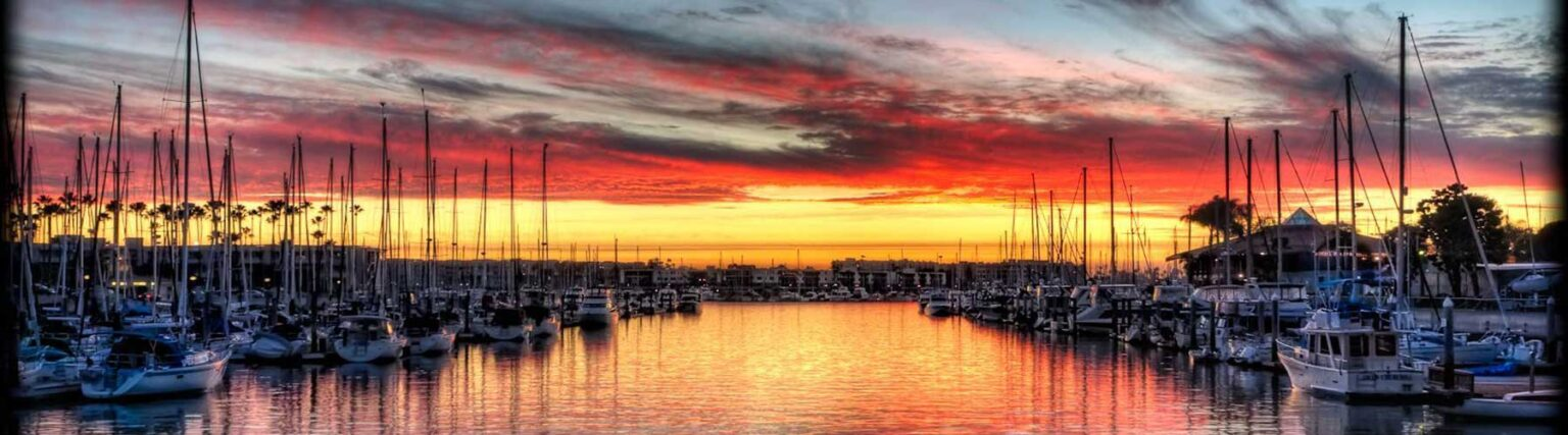 美國遊艇俱樂部夕陽-美國疫苗行程