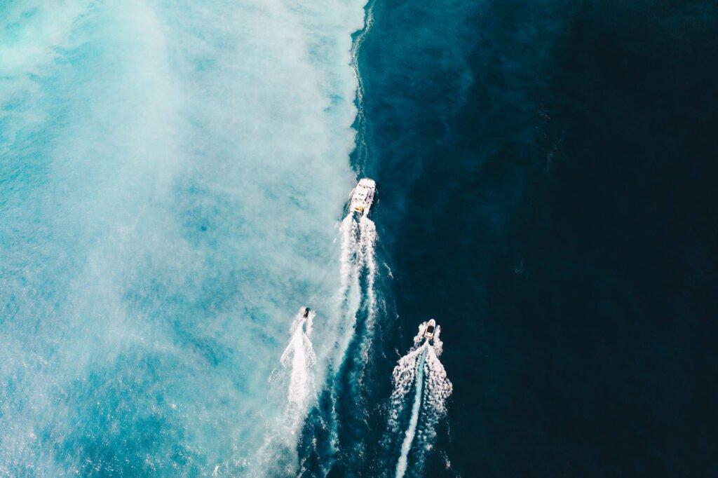 龜山島牛奶海遊艇船隊