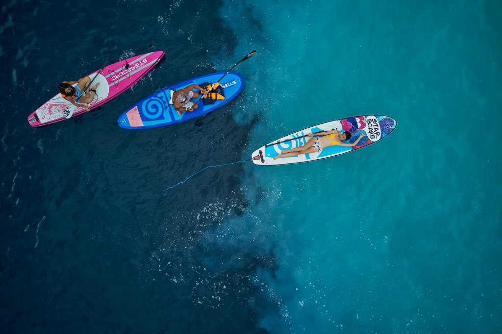 龜山島牛奶海SUP躺板注意