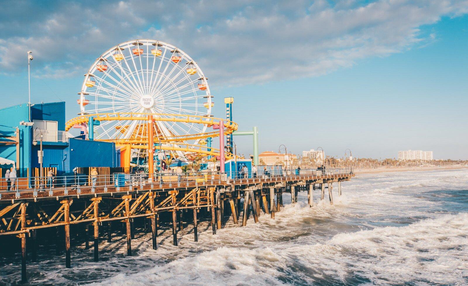 美國南加州海灘-美國疫苗行程